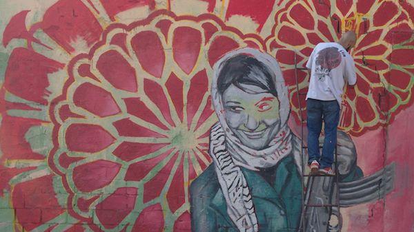 Graffiti Exhibition, Snösätra, Rågsved. © Per Sandström