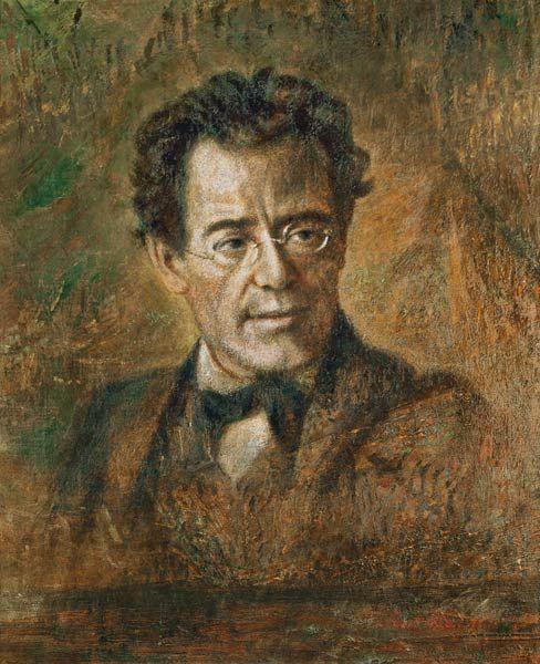 Image: Anton Wagner - Gustav Mahler (1860-1911)