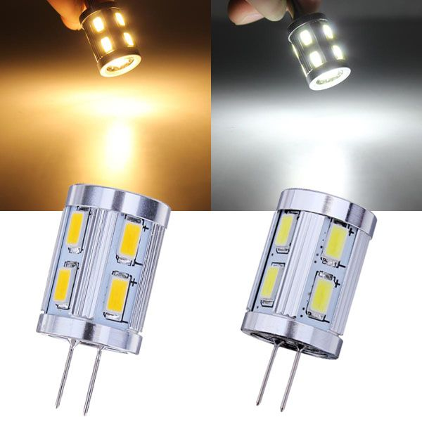 G4 2w Warm White White 12 Smd 5730 12v Led Light Bulb Led Lights 12v Led Lights Led Light Bulb