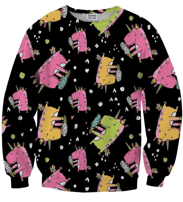 Dinocorns sweater, Mr. GUGU & Miss GO