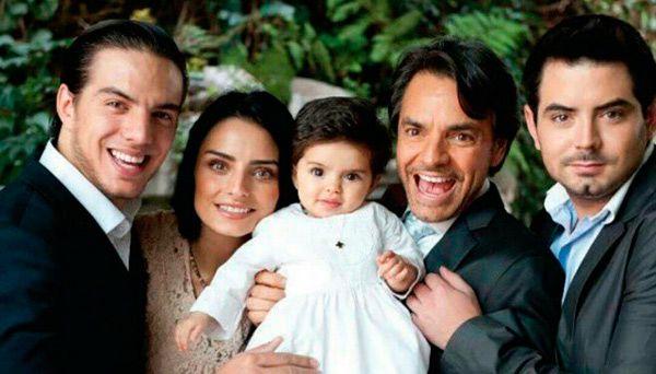 Aitana, la hija de Eugenio Derbez y Alessandra Rosaldo, la alegría de la familia