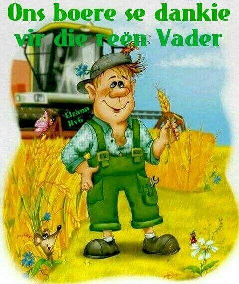 Boere dankie vir reen