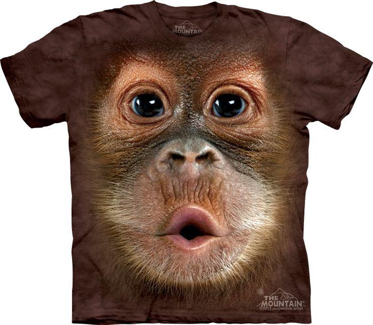 baby orangutan t-shirt