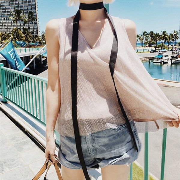 Women Sexy Long Skinny Scarf Solid Double Layer Small Scarves Neck Accessories