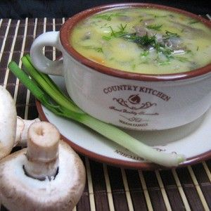 Сырный суп с шампиньонами рецепт – супы. «Афиша-Еда»
