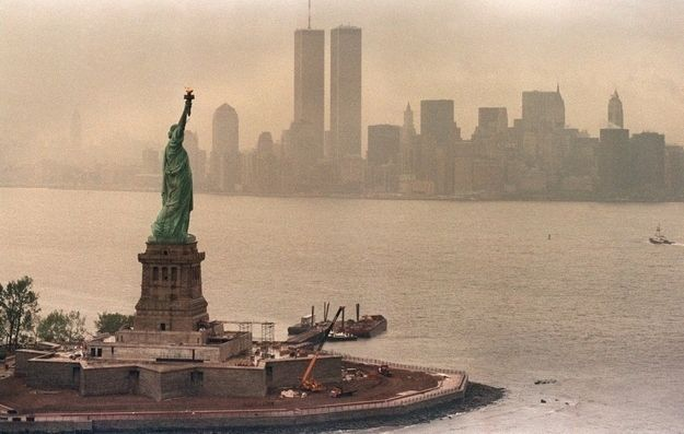 Fierce. | The 28 Fiercest Moments In The Life Of The Statue Of Liberty