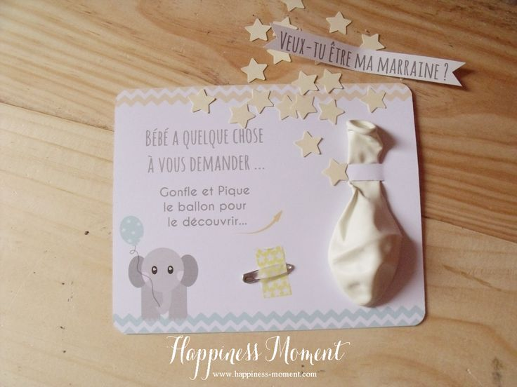 Happiness Moment: .. Les Cartes Ballons Surprise ! ..