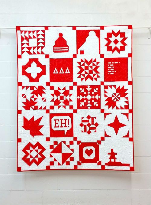 The Canadian Sampler - Block of the Month Pattern Program