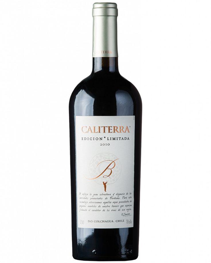 Caliterra Edición Limitada Cabernet Franc-Petit Verdot B 2010 (750ml) - Decanter Vinhos Finos