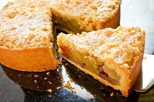 Tarta de Manzana con Crumble de Canela Te enseñamos a cocinar recetas fáciles cómo la receta de Tarta de Manzana con Crumble de Canela y muchas otras recetas de cocina..