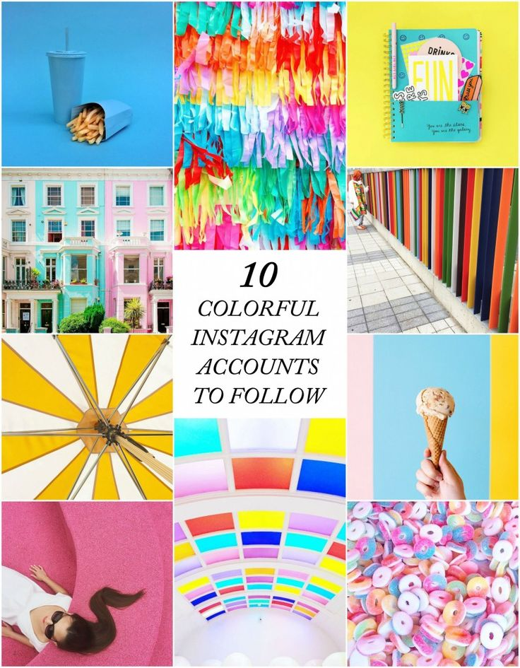 10 Colorful Accounts to Follow on Instagram
