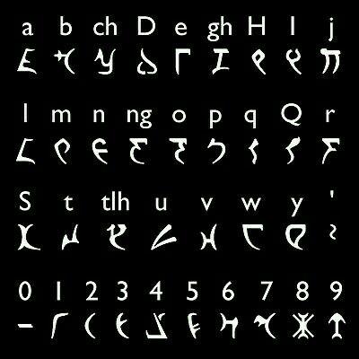 Klingon Alphabet ... Star Trek StarTrek #Star #Trek #스타 #트렉 #StarTrek #스타트렉 #Daebak! #대박 shared by Neferast @Neferast #Neferast AGalaxyNeferast #AGalaxyNeferast #StarTrekNeferast :)