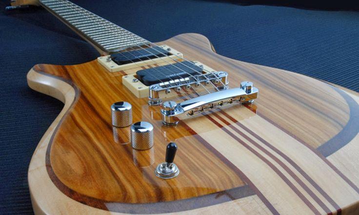 CONSTRÚYELO YA: Planos para construir tu propia Guitarra