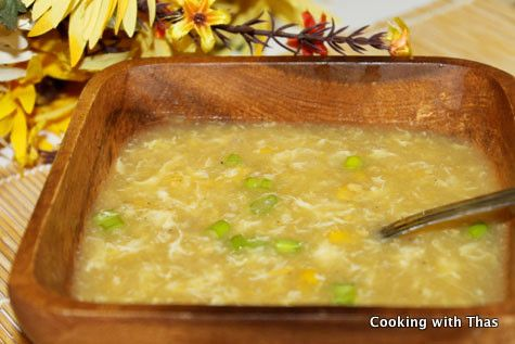 Sweet Corn Chicken Soup - One of the popular Indo Chinese Recipes   Cooking with Thas