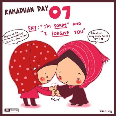 "day 7 ""forgive each other"" #islam #Quote #religion #ramadan"