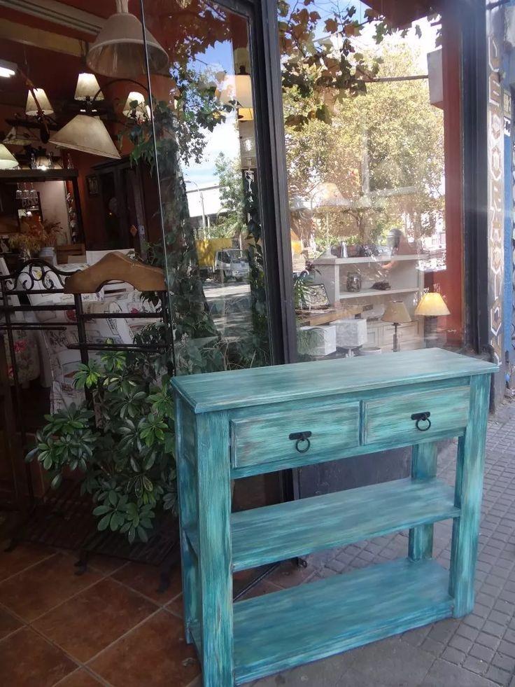 Mesas de arrimo vintage muebles vintage for Decoracion hogar uruguay