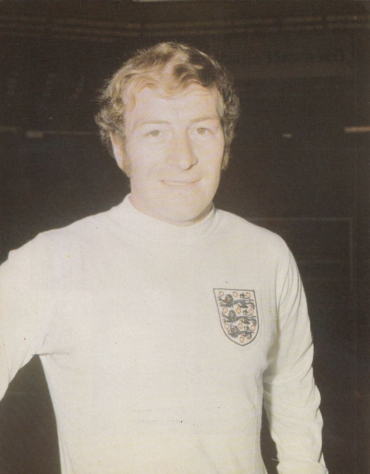 12th May 1971. Tottenham Hotspur midfield player Ralph Coates prior to the Nations Cup Qualifier against Malta, at Wembley.