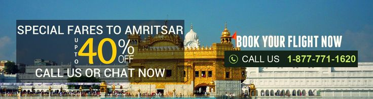 The safest and the best option, available online, to #BookCheapFlightstoAmritsar from the US, is the #FlyDealFare. We offer lowest priced available flights for your desired destination. Our team of experts will assist you in booking flights from any major airline carrier that you want at attractively low prices.
