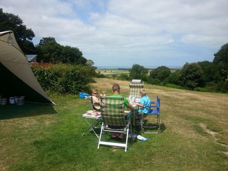 Bretagne: camping Le Balcon de la Baie