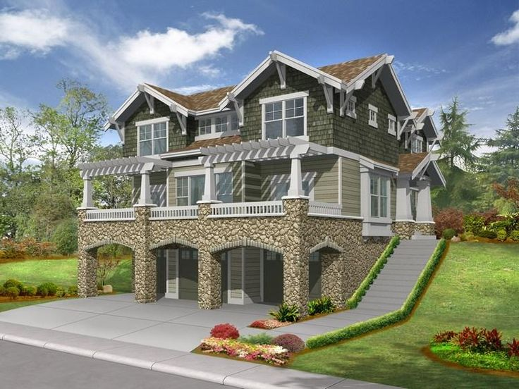 House Plan 341 00073   Northwest Plan: 2,675 Square Feet, 3 Bedrooms, 2.5  Bathrooms