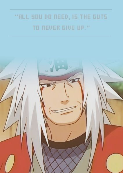 Naruto 30 day challenge. Day 5: Favorite sensei: Jiraya! He is one of the three legendary sanin and he taught Naruto the rasengan and his death made me cry! T~T but he was also very funny!