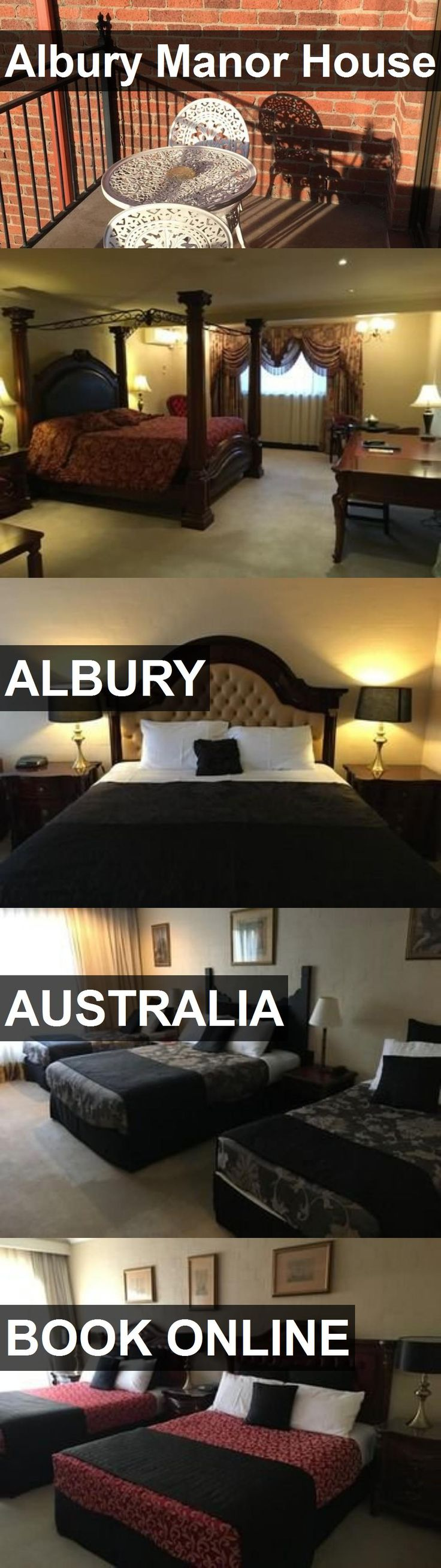 Hotel Albury Manor House in Albury, Australia. For more information, photos, reviews and best prices please follow the link. #Australia #Albury #travel #vacation #hotel