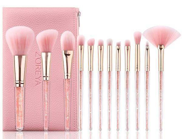 Makeup Brushes Brands Makeup Tools In 2020 Pink Makeup Brush Makeup Brush Set Cosmetic Brush Set