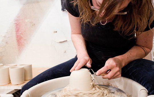 Lisa Jones of Pigeon Toe Ceramics & Homewares