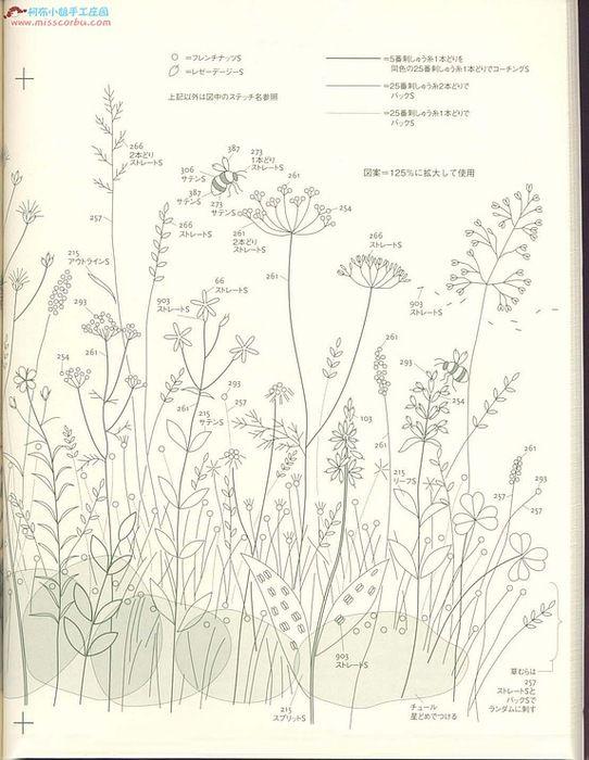 Нежные растения Kazuko Aoki 2. Обсуждение на LiveInternet - Российский Сервис Онлайн-Дневников