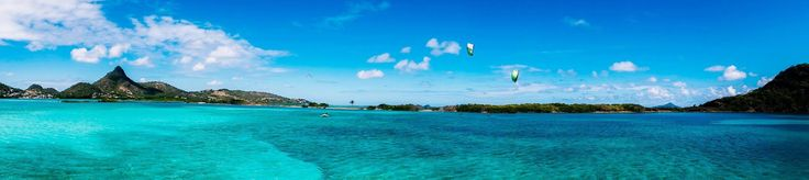 Simply breathtaking! #Union Island Craig Cunningham #grenadines, #North #Kiteboarding, #JTProCenter, #ION #kitesurfing #travel - actiontripguru.com