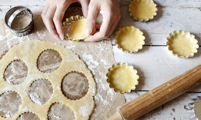 Receta de Pasta brisa o masa quebrada para tartas y quiches