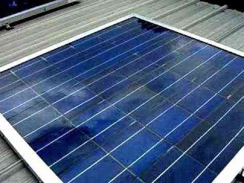 http://netzeroguide.com/homemade-solar-panels.html Homemade solar panels have become more popular as the technology improves to make it easier for mums and dads to do it on their own.