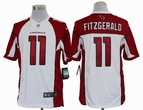 Arizona Cardicals 11 Fitzgerald Red Strobe 2015 New Nike Limited Jersey 41fda8c5c