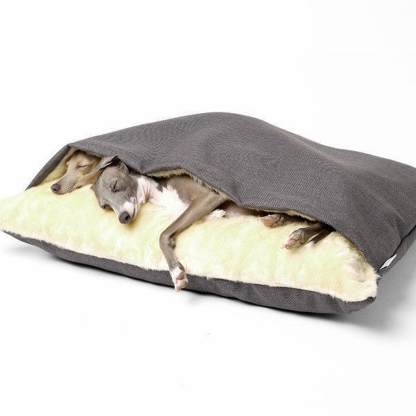 The Snuggle Bed: for your favorite cuddle bug. | 41 Insanely Clever Products Your Dog Deserves To Own #DogMom