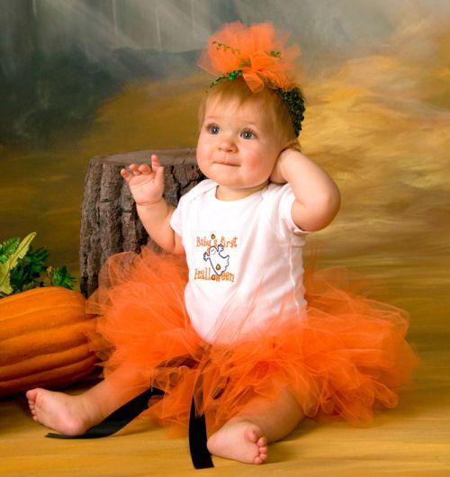 Babies First Halloween Tutu, Babies 1st halloween Set, Baby's First Halloween Outfit Costume