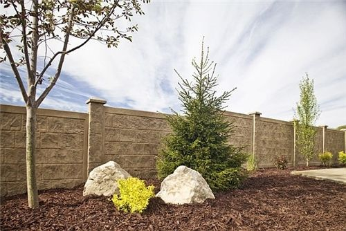Lightweight Concrete Fence Panels - Landscaping Network