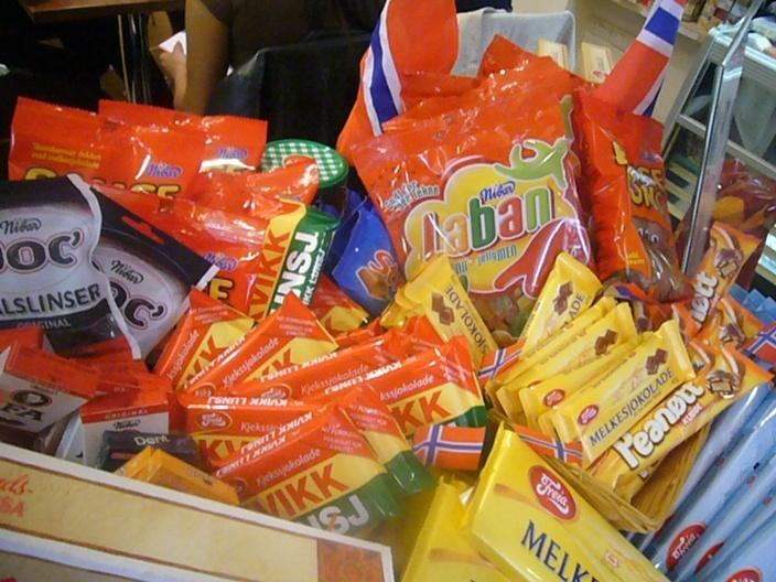 Norwegian yummy candy.