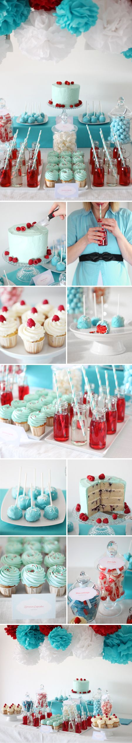 Babyshower_Babyparty_CandyBuffet_RedBlue by http://www.blog.zuckermonarchie.de