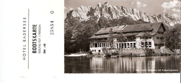 Auf dieser alten Bootskarte wurde ein wenig geflunkert. Das dritte Seehaus ...