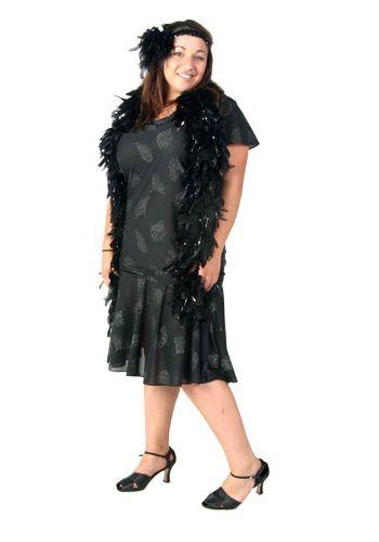 roaring twenties dress patterns | Home HISTORICAL 1920s Roaring 20s Plus Size Costume