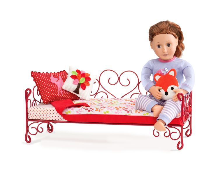 Scrollwork Bed Our Generation Dolls Og Pinterest Our Generation Dolls Accessories And Love