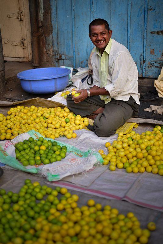 Lemons Vendor, Ganesh Peth, Pune, Maharashtra, India