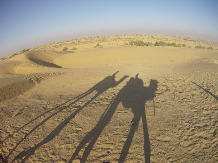 Méharée dans le désert du Thar