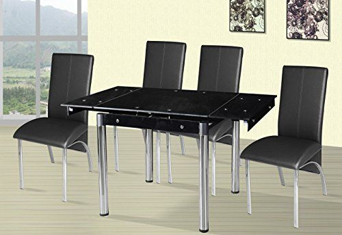 Small Extending dining table and 4 faux leather chairs sq... https://www.amazon.co.uk/dp/B01BQD23UY/ref=cm_sw_r_pi_dp_x_nup-xbRAWQC6P