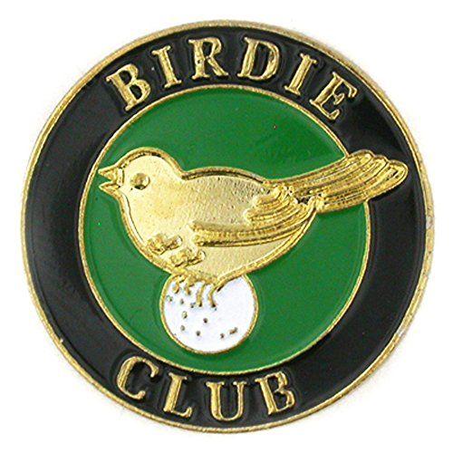 Birdie Club Golf Lapel Pin