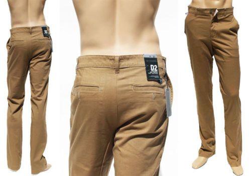 Pantaloni Uomo Dockers Khakis Slim Flat Front L34 W32 W36 W38
