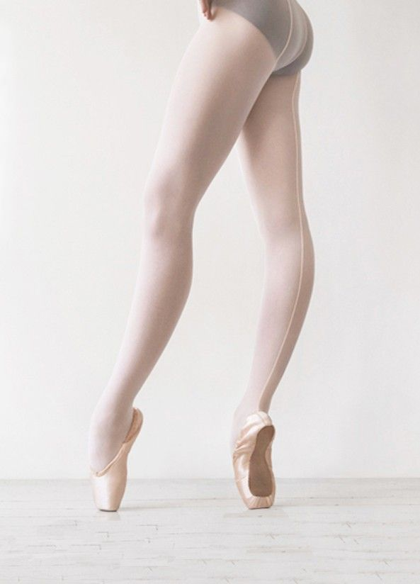 Seamed tights from Ballet Beautiful. Trying to find the best tights.