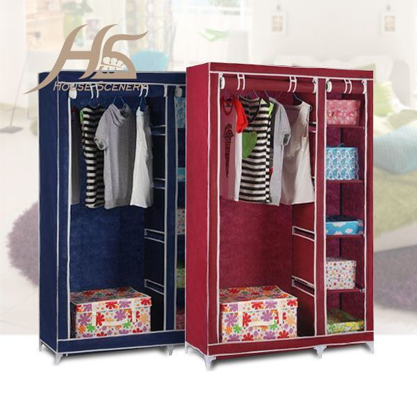 1000 ideas about portable wardrobe closet on pinterest - Bedroom furniture for hanging clothes ...