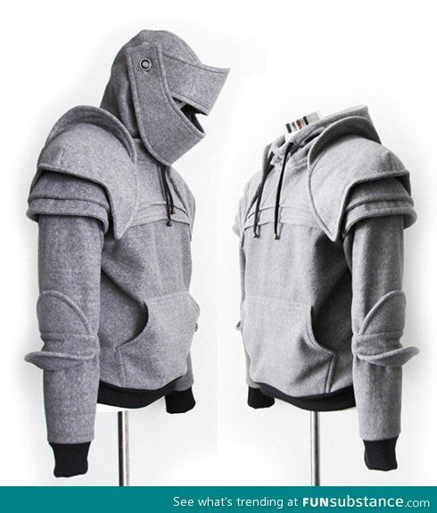 Shut up and take my money. I would get it made out of the highest grade leather reinforced by Kevlar mesh to make it work for real armor.