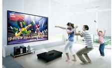 3D Projector & Projection Screen with Sony Home Movie Theater Surround Sound HD